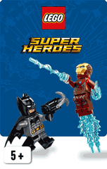 LEGO® DC Comics™ and Marvel Super Heroes